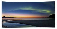After Sunset II Beach Towel