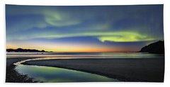 After Sunset Iv Beach Towel