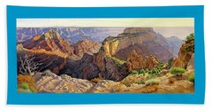 Afternoon-north Rim Beach Towel by Paul Krapf
