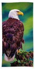 Alaska Bald Eagle Beach Towel
