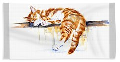 Alley Cat Beach Towel