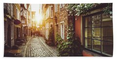 Alley Of Dreams Beach Towel by JR Photography