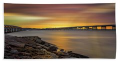 Beach Towel featuring the photograph Amelia Island by Peter Lakomy