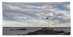 Anchor Beach Beach Towel by John Scates