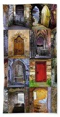 Ancient Doorways Beach Sheet