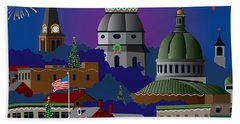 Annapolis Holiday Beach Towel