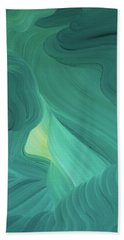 Aquamarine Vista Beach Towel