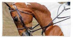Arabian Horse Show Beach Towel