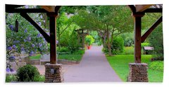 Arboretum Shelter And Walk Beach Towel