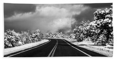 Arizona Snow Beach Towel