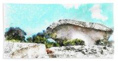 Arzachena Mushroom Rock Beach Sheet