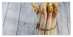 Asparagus Beach Towel by Nailia Schwarz