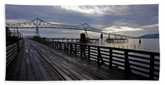Astoria-megler Bridge 4 Beach Towel