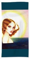 August Honey Beach Towel