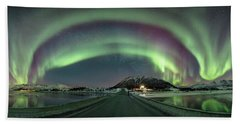 Aurora Panoramic Beach Towel