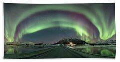 Aurora Panoramic Beach Sheet