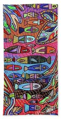 Australia Great Barrier Reef  Beach Towel