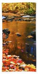 Autumn Afternoon Beach Sheet