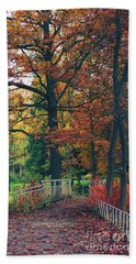Autumn Impression Beach Towel