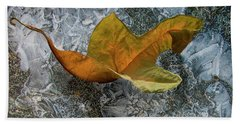 Autumn Leaf Beach Sheet