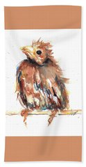 Baby Cardinal - New Beginnings Beach Sheet