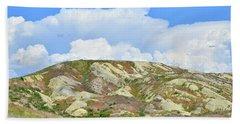 Badlands In Wyoming Beach Sheet