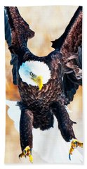 Bald Eagle Beach Towel