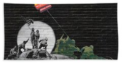 Banksy - The Tribute - New World Order Beach Towel