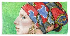Barbra Streisand Beach Towel