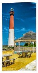 Beach Sheet featuring the photograph Barnegat Lighthouse Park by Nick Zelinsky
