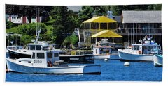 Bass Harbor Maine Beach Towel
