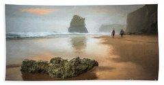 Beach Stroll Beach Towel