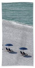 Beach Towel featuring the photograph Beach Therapy 1 by Marie Hicks
