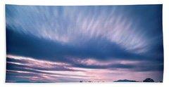 Beautiful Sky Beach Towel by Alana Ranney
