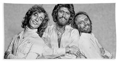 Bee Gees Collection Beach Sheet