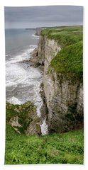 Bempton Cliffs Beach Towel