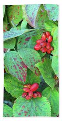 Berries Beach Towel