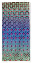 Bibi Khanum Ds Patterns No.3 Beach Towel
