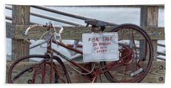 Bicycle For Sale Beach Sheet