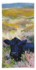 Black Cow Dartmoor Beach Towel