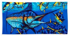 Blue Marlin Beach Sheet