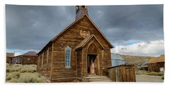 Bodie Church Beach Towel