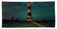 Bodie Island Night Beach Sheet