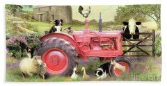 The Farmyard Beach Towel