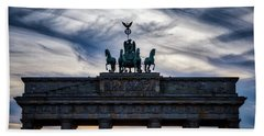 Brandenberg Gate Beach Towel