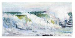 Breaking Seas Beach Towel