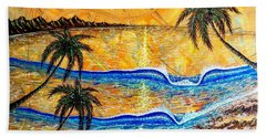 Breathe In The Moment  Beach Towel