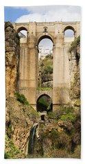 Bridge In Ronda Beach Sheet