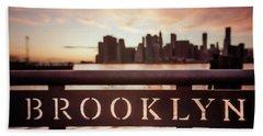 Brooklyn Beach Towel