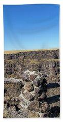 Bruneau Canyon Overlook, Idaho Beach Sheet